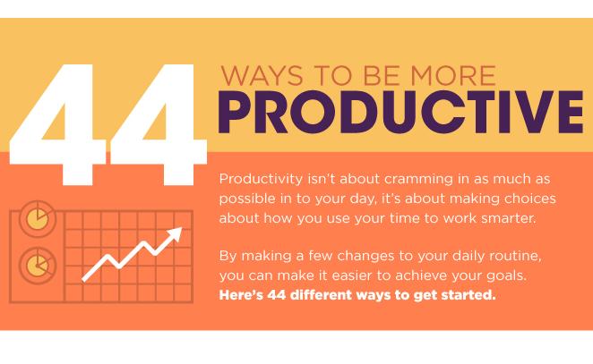 I modi per essere più produttivo